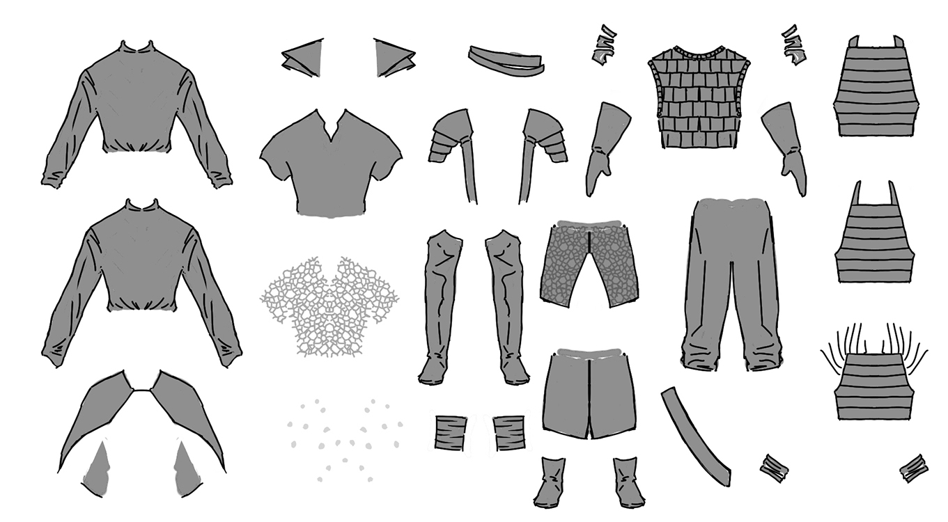 Real Clothes Design Games Claw Clothing Options